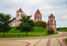 стародедовский замок средневековый Стоковые Изображения