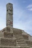 стародедовский индийский totem Стоковое фото RF