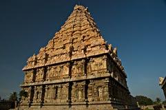 стародедовский индусский висок Индии Стоковое фото RF