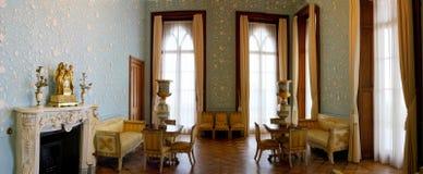стародедовский интерьер замока Стоковые Фото