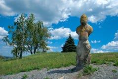 стародедовский камень славянин scythians идола Стоковое Изображение