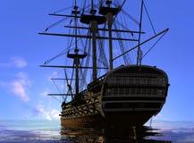 стародедовский корабль Стоковое Фото