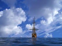 стародедовский корабль иллюстрация вектора