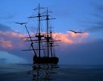 стародедовский корабль стоковая фотография rf