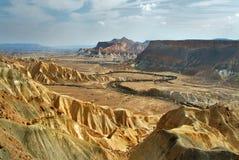 стародедовский кратер Стоковая Фотография