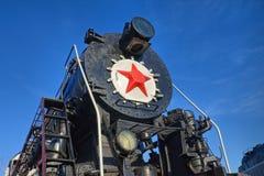 стародедовский локомотивный пар Стоковая Фотография