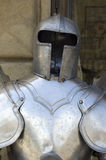 стародедовский металл панцыря стоковое фото