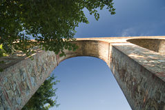 стародедовский мост-водовод Италия lucca Стоковая Фотография