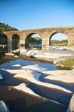 Стародедовский мост и каменные острова Стоковая Фотография