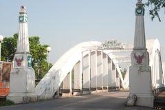 стародедовский мост Таиланд Стоковые Изображения RF