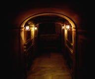 Стародедовский подвал стоковая фотография rf