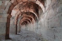 Стародедовский римский театр в Турции Стоковые Изображения