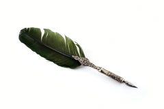 стародедовский серебр пера Стоковое Фото