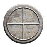 Стародедовский символ для элементов иллюстрация вектора