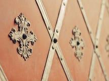 стародедовский строб облицовки заклепывает тип стоковая фотография rf