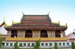 Стародедовский тайский висок Стоковые Изображения