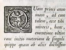 стародедовский текст Стоковое Изображение
