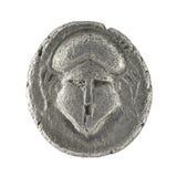 стародедовский bc crested шлем грека diobol 350 Стоковое Изображение