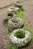 стародедовский etruscan necropolis ступки Стоковые Фотографии RF