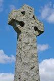 стародедовский irish гранита кельтского креста Стоковое Изображение
