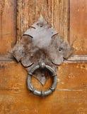 стародедовский knocker двери Стоковое Изображение