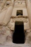 стародедовский petra Иордана зодчества Стоковые Изображения