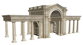 стародедовское здание Стоковые Изображения RF