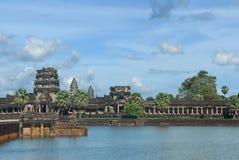 стародедовское здание angkor Стоковые Изображения