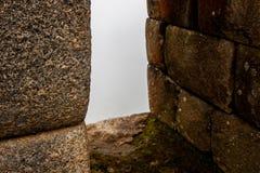 Стародедовское каменное окно Стоковое Изображение