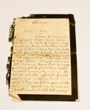 стародедовское письмо Стоковая Фотография