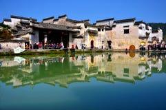 стародедовское село hongcun фарфора Стоковое Фото