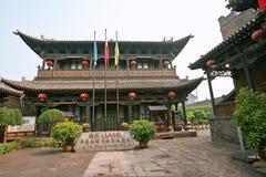 стародедовское pingyao города стоковые изображения rf