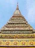 стародедовское wat Таиланда stupa pho bangkok Стоковое Фото