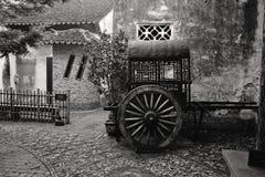 стародедовское zhouzhuang городка фарфора Стоковое фото RF
