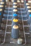Старое аудио оборудования кнопок Стоковая Фотография RF