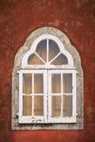 старое белое окно Стоковое Изображение RF