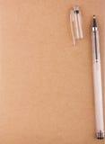 старое бумажное пер Стоковая Фотография RF