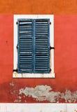 Старое венецианское окно. Венеция, Италия Стоковая Фотография RF