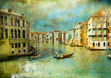 Старое Венеция Стоковое Изображение
