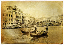 Старое Венеция Стоковая Фотография