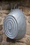 Старое ведро мытья Стоковое фото RF