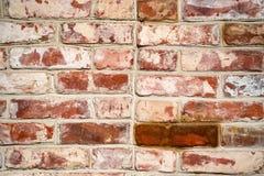 Старое винтажное brickwall grunge Стоковые Фото
