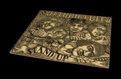 Старое винтажное Jetro Tull стоит вверх альбом стоковые изображения rf