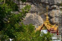 Старое виска тайское Стоковые Изображения RF