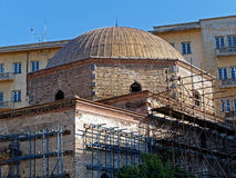 Старое восстановление церков, Thessaloniki, Греция Стоковые Фото