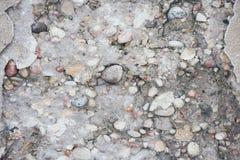 Старое влияние года сбора винограда текстуры бетонной стены Стоковое Изображение