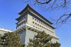 Старое городище на площади Тиананмен, Пекине, столице Китая Стоковые Изображения