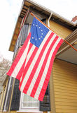 Старое голландское здание в историческом разделе Schenectady NY с 1700 ' Стоковое фото RF