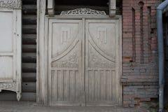 Старое двойное крыло деревянное стоковая фотография rf