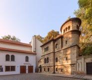 Старое еврейское кладбище в Прага стоковая фотография rf